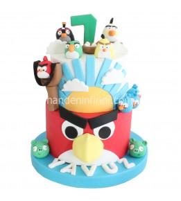 Angry Birds Pastası 4