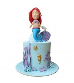 Ariel Deniz Kızı Pasta