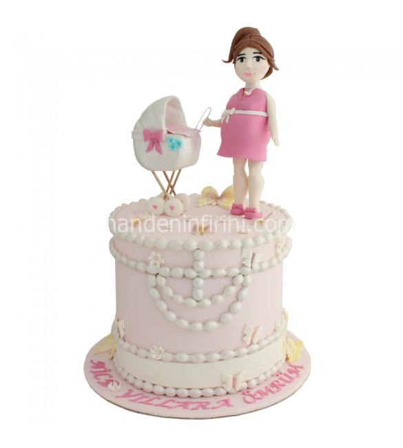 Baby Shower Hamile Pastası