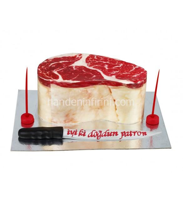 Biftek Et Pasta