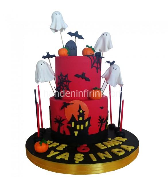 Halloween Cadılar Bayramı Pastası