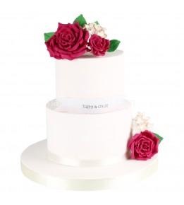 Nişan Pastası Çiçekli 4
