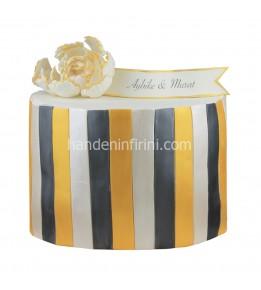 Nişan Pastası Gold