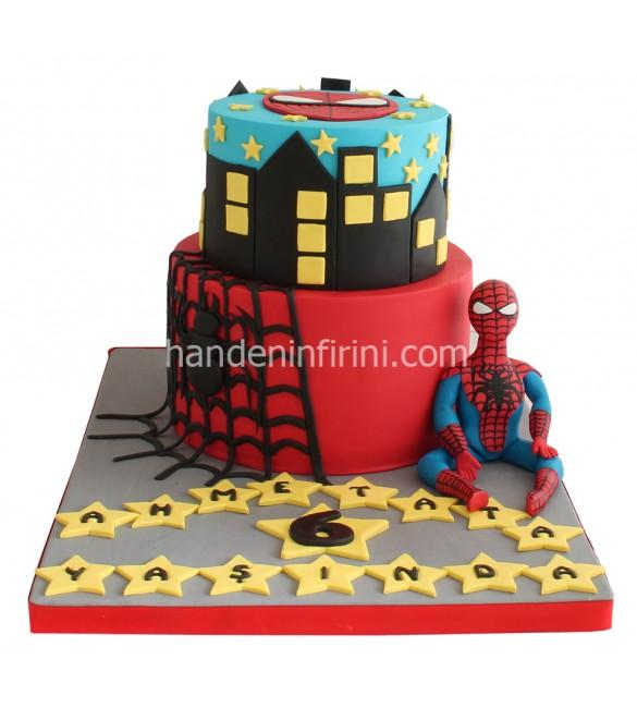 Örümcek Adam Pasta
