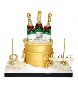 Şampanya Pastası 3