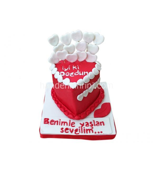 Sevgiliye Pasta 1