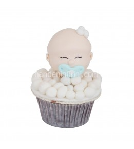 Erkek Bebek Cupcake