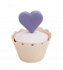 Mor Nişan Cupcake 1