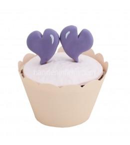 Mor Nişan Cupcake 2