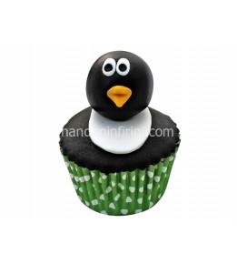 Penguen Cupcake
