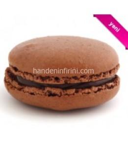 Çikolatalı Macaron Seti