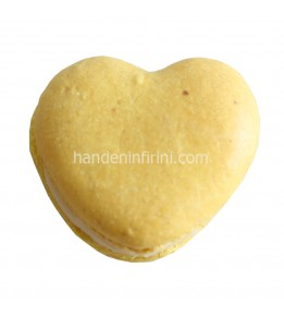 Kalp Macaron Seti 2