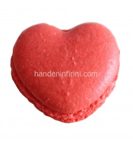 Kalp Macaron Seti 3