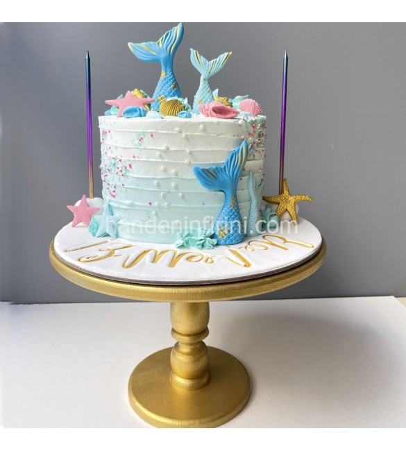 Deniz Kızı Kuyruğu Pasta