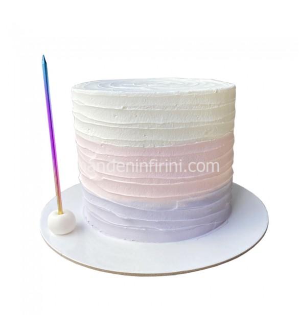 Soft Renkler Kremalı Pasta