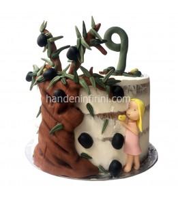 Zeytin Ağacı Pasta