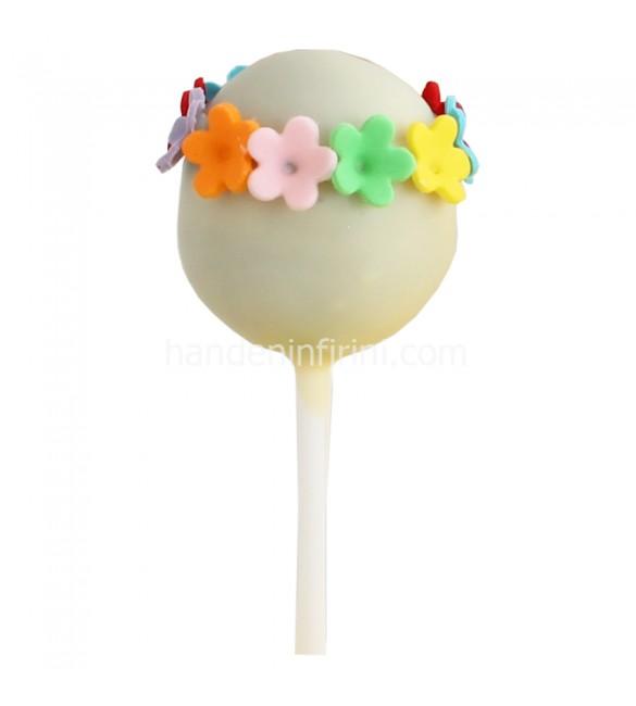 Çiçekli Popcake
